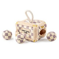 Checkered Chewy Vuiton Trunk