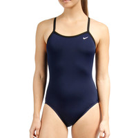 Nike Swim Poly Training Lingerie Tank Swimsuit at SwimOutlet.com - Free Shipping