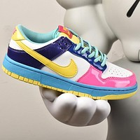 NIKE SB hot sale women's color block low-top sneakers Shoes