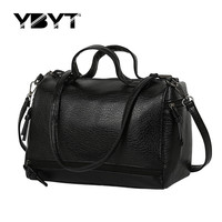 vintage casual leather handbag new fashion women totes ladies purse clutches famous travel brand shoulder motorcycle travel bags