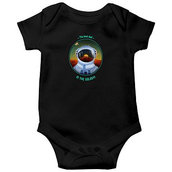 The Best Dad in the Galaxy Baby Bodysuits