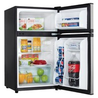 DANBY Stainless Steel Compact Refrigerator - 3.1 cft.