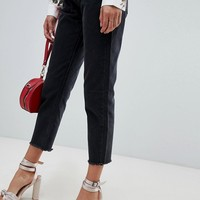 Missguided wrath straight leg jean in black | ASOS