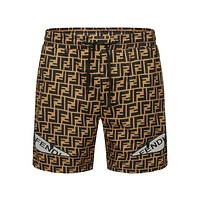 FENDI Beach Shorts Fashion Casual Summer Wear Holiday Vacation S13