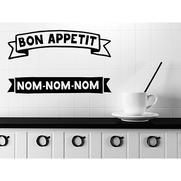 Unique Gift Wall Vinyl Decal Quote Words Kitchen Tools Home Made Kitchen Mural Decor (n1137)