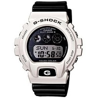 Casio G-Shock Garish Color Mens Solar Multi-Band 6 Atomic - Mirror LCD Dial