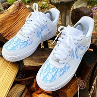 Dior*Nike Air Force One Fashion Casual Shoes-3