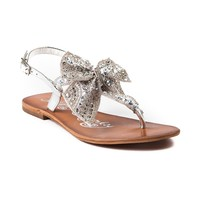 Womens Naughty Monkey Sweet Cakes Sandal, Silver | Journeys Shoes