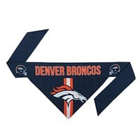 Denver Broncos Dog Bandanna