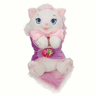 """disney parks 10"""" baby marie plush toy with blanket new with tag"""