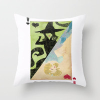 Wicked Throw Pillow by Serena Rocca