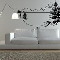 Lakehouse Vinyl Wall Decal Sticker