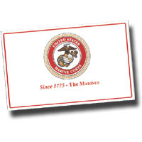 USMC Emblem Paper Placemats (Set of 100 - Can be Personalized) , Marine Corps Themed Paper Placemats