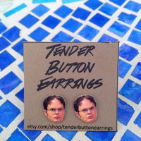 Heartthrob Earrings - Dwight Schrute