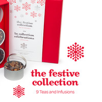 The Festive Collection - Bright Red Tea Gift Box Containing Nine Of Our Most Festive Teas And Infusions | DavidsTea