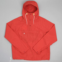 battenwear - packable anorak red ripstop taslan nylon