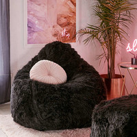 Aspyn Shag Bean Bag Chair | Urban Outfitters