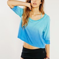 Without Walls Dip-Dye Tee - Urban Outfitters