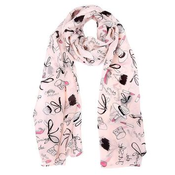 New 2017 Fashion New Women Wrap Lady Shawl Soft Thin Chiffon Silk Scarf Women Animal Bird Printed Scarves Cachecol Feminino