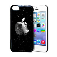 Shawnex Apple Death Star iPhone 5C Case - Thin Shell Plastic Protective Case iPhone 5C Case