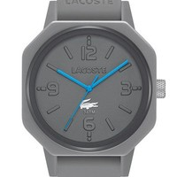 Lacoste '80th Anniversary' Silicone Strap Watch, 42mm | Nordstrom