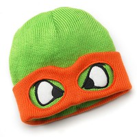 Men's Teenage Mutant Ninja Turtles Reversible Beanie