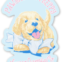 Pawsitively Preppy Sticker – Lauren James