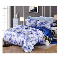 Silk King Queen Double Size Silk Duvet Quilt Cover Sets Bedding Cover Set 1.5M/1.8M Bed 10