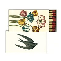 John Derian Matches Tulip and Swallow