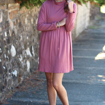Lovestuck Turtleneck Dress {Ginger}