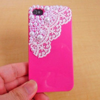 iPhone 4,4S hard Case cover with pearl for apple iPhone 4 case ,iPhone 4s case,iPhone 4GS case   SJK-2040