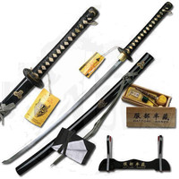 """HATTORI HANZO COLLECTION HAND FORGED CARBON STEEL """"BILL'S SWORD"""""""