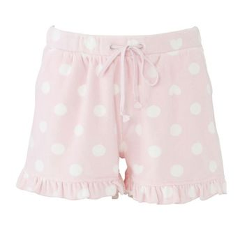 Velor dot shorts & heart: Room wear | tutu Anna official online store - tutuanna