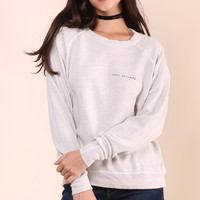 Good hYouman Love Yourself Sweatshirt