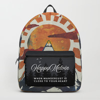 Mount Spitfire Backpack by happymelvin