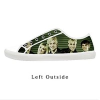 Custom R5 Loud Ross Lynch Family Women's Canvas Shoes Fashion Shoes for Women