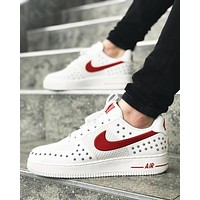 Nike Air force 1 Drop Plastic Fashion Leisure Shoes-2