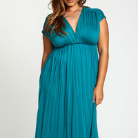 Plus Size Empire Waist Tee Dress