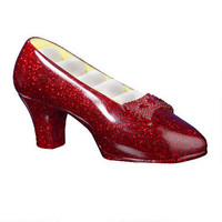 """The Wizard of Oz """"Ruby Slippers"""" Musical Jewelry Holder 