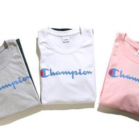 kuyou Champion Gradient  T-Shirt