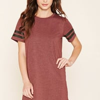 Heather Knit Tee Dress