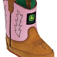 Infant Crib Classic Pull-On Boot - Pink