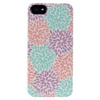 Uncommon Fireworks Floral Pastel Deflector Cell Phone Case for iPhone® 5 - Multicolor (C0070-T)