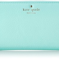 Kate Spade New York Cobble Hill Lacey Checkbook Wallet Fresh Air One Size