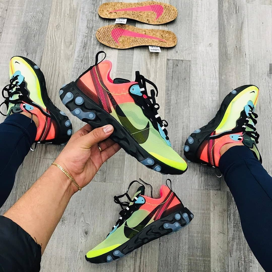 Image of Nike Sneakers Sport Shoes React VoltRacer