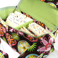 Double Wide Coupon Organizer Carnival Bloom