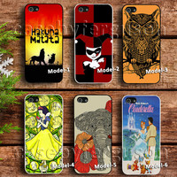 Hakuna Matata Lion King case, joker case,owl bird case,princess snow white case,elephant art case, cinderella poster case