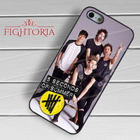 5sos poster and logo-yah for iPhone 4/4S/5/5S/5C/6/ 6+,samsung S3/S4/S5,S6 Regular,S6 edge,samsung note 3/4