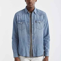 Levi's Washed Chambray Western Button-Down