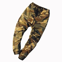 2017 Mens Jogger Spring & Autumn Harem Pants Men Camouflage Military Pants Loose Comfortable Cargo Trousers Camo Joggers